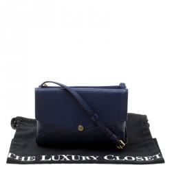 Louis Vuitton Celeste Monogram Empreinte Leather Twinset Bag