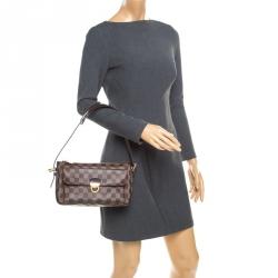 Louis Vuitton Damier Ebene Canvas Ravello GM Bag