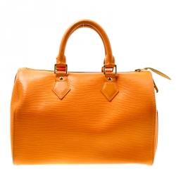 Louis Vuitton Mandarin Epi Leather Speedy 25
