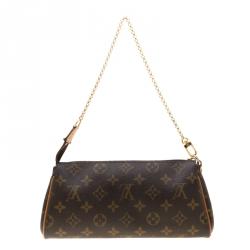 Louis Vuitton Monogram Canvas Eva Pochette Bag