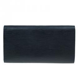 Louis Vuitton Black Epi  Sarah Wallet