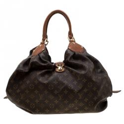 Louis Vuitton Monogram Canvas and Alligator Trim Limited Edition XL Bag