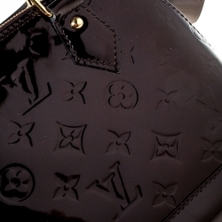 Louis Vuitton Amarante Monogram Vernis Alma BB Bag