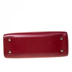 Louis Vuitton Rubis Epi Leather Brea GM Bag