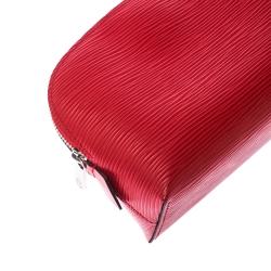Louis Vuitton Piment Epi Leather Cosmetic Pouch
