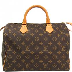 Louis Vuitton Monogram Canvas Speedy 30 City Handbag