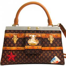 Louis Vuitton Monogram Crown Frame PM Bag