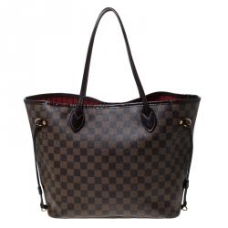 a few days away most popular exclusive deals Louis Vuitton Damier Ebene Canvas Neverfull MM Bag