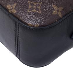 Louis Vuitton Monogram Canvas Saintonge Crossbody Bag