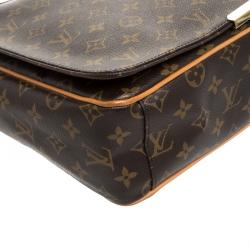Louis Vuitton Monogram Canvas Valmy MM Bag