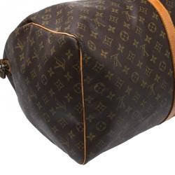 Louis Vuitton Monogram Canvas Keepall 60 Bag