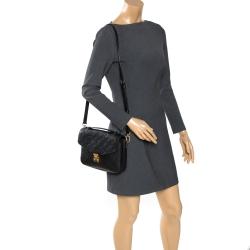 Louis Vuitton Black Monogram Empriente Leather Pochette Metis Bag