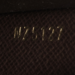 Louis Vuitton Magnolia Damier Ebene Normandy Compact Wallet