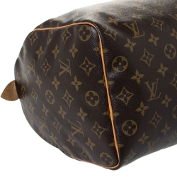 Louis Vuitton Monogram Canvas Speedy Bandouliere 35