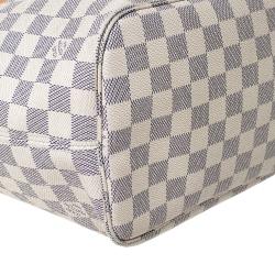 Louis Vuitton Damier Azur Canvas Neverfull MM Bag