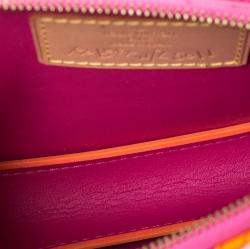 Louis Vuitton Fluo Rose Monogram Vernis Robert Wilson Lexington Pochette Bag