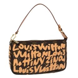Louis Vuitton Monogram Canvas Limited Edition Stephen Sprouse Graffiti Pochette Accessoires