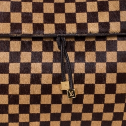 Louis Vuitton Damier Sauvage Calfhair and Leather Limited Edition Lionne Spawn Bag