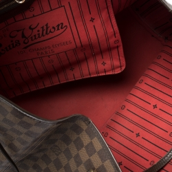 Louis Vuitton Damier Ebene Canvas Neverfull GM Bag