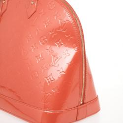 Louis Vuitton Orange Vernis Alma GM