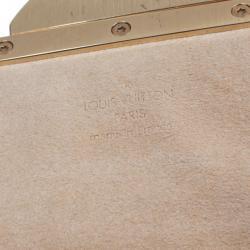 Louis Vuitton Monogram Canvas Beverly Clutch Bag