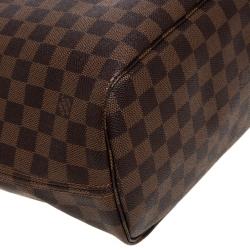 Louis Vuitton Damier Ebene Canvas Neverfull NM MM Bag