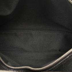Louis Vuitton Black Leather Taiga Reporter PM Bag
