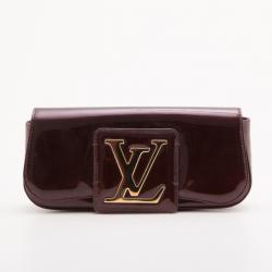 Louis Vuitton Vernis Amarante Sobe Clutch