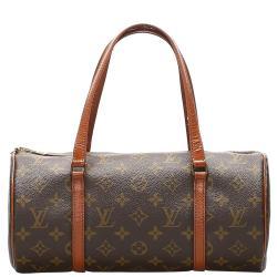 Louis Vuitton Brown Monogram Canvas Papillon 30 Bag