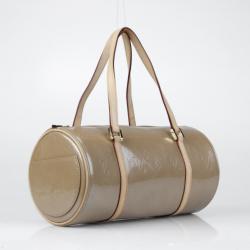Louis Vuitton Tan Vernis Bedford Satchel Handbag