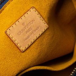 Louis Vuitton Blue Monogram Denim Baggy PM Bag
