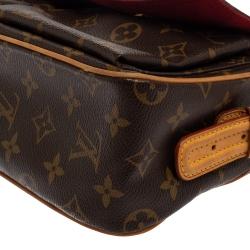Louis Vuitton Monogram Canvas and Leather Viva Cite MM Bag