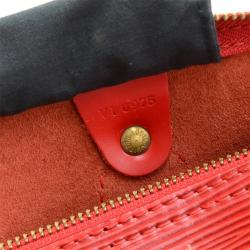 Louis Vuitton Red Epi Leather Speedy 30