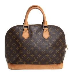 Louis Vuitton Monogram Canvas and Leather Alma PM Bag