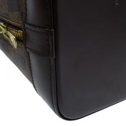 Louis Vuitton Damier Ebene Canvas Alma PM Bag