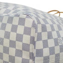 Louis Vuitton Damier Azur Canvas Neverfull GM Bag