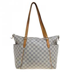 Louis Vuitton Damier Azur Canvas Totally MM Bag