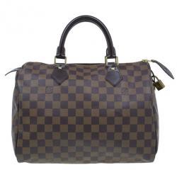 reputable site best loved website for discount Louis Vuitton Damier Ebene Canvas Speedy 30