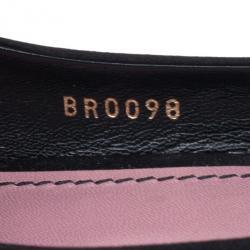 Louis Vuitton Black Satin Bow Peep Toe Pumps Size 39