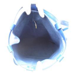 حقيبة ظهر لوي فيتون راندوني جلد أيبي زرقاء