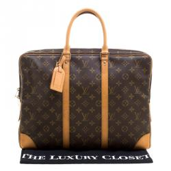 Louis Vuitton Monogram Canvas Porte Documents Voyage Briefcase