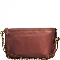 Louis Vuitton Rose Calf Leather 2013 Fall Winter Collection Pochette Accessoires