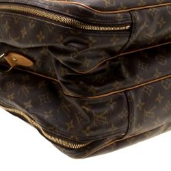 Louis Vuitton Monogram Canvas Alize 2 Poche Soft Suitcase