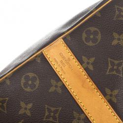 Louis Vuitton Monogram Keepall Bandouliere 50