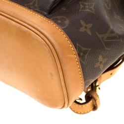 Louis Vuitton Monogram Canvas Mini Montsouris Backpack