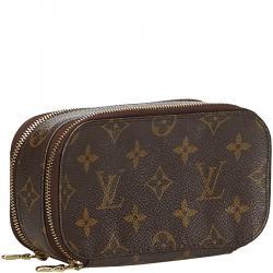 Louis Vuitton Monogram Canvas Trousse Blush Cosmetic Case PM