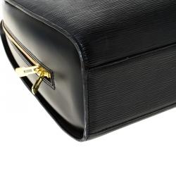 Louis Vuitton Black Epi Leather Sorbonne Briefcase