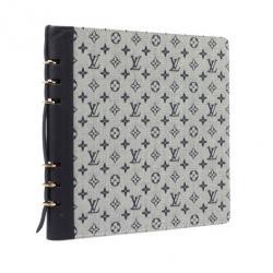 Louis Vuitton Grey Mini Lin Agenda