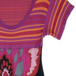 M Missoni Pink/Purple Floral Dress M
