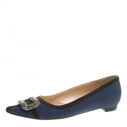 buy pre loved authentic manolo blahnik flats for women online tlc rh theluxurycloset com